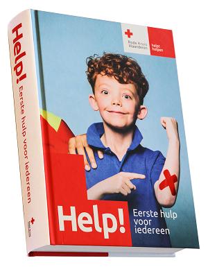 Rode Kruis Tienen Helpt Helpen Eerstehulphandboeken